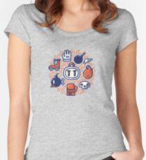 Bomberman Essentials Women's Fitted Scoop T-Shirt