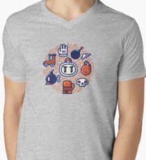 Bomberman Essentials Men's V-Neck T-Shirt