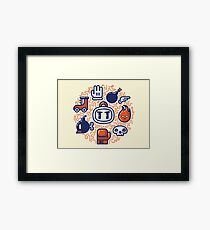Bomberman Essentials Framed Print
