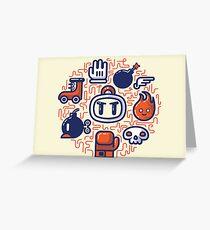 Bomberman Essentials Greeting Card