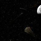 Space debri by Kurt Bippert