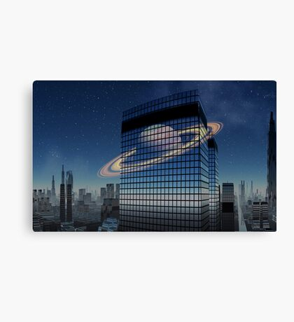 City.....waiting for substance Canvas Print