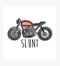Cafe Racer Slunt Photographic Print