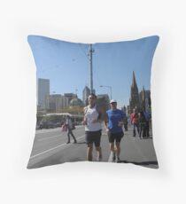 St Kilda Rd Throw Pillow