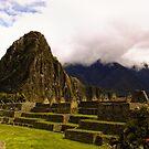Inca ruins by Constanza Barnier
