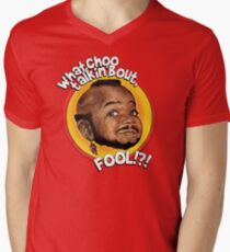 Mr Gary T Coleman - Whatchoo talkin'bout FOOL!?! Men's V-Neck T-Shirt