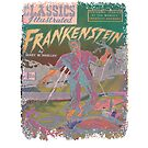 Frankenstein Monster Hot Pink Design For Halloween and Year Round Fun by MHirose