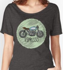 Espresso - Cafe Racer Women's Relaxed Fit T-Shirt