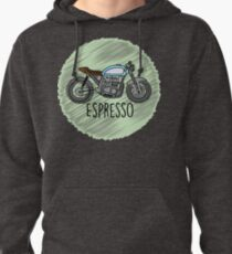 Espresso - Cafe Racer Pullover Hoodie