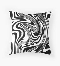 Acid Trip Zebra Floor Pillow