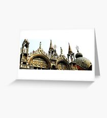 Sacred - Italian Cathedral Greeting Card