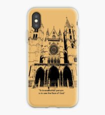To love another person is iPhone Case