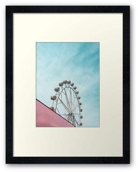 Ferris whell by veralair