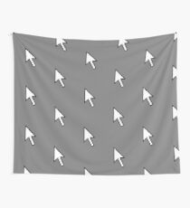 A computer pointer mouse direction device Wall Tapestry