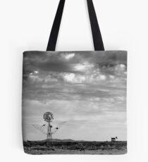 Waiting For Contact Tote Bag