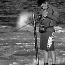 The Smokin Fisherman by Mark  Lucey