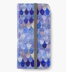 SUMMER MERMAID ROYAL BLUE iPhone Wallet/Case/Skin