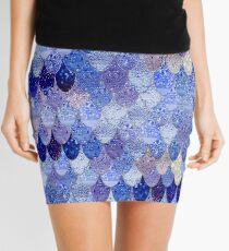 SUMMER MERMAID ROYAL BLUE Mini Skirt
