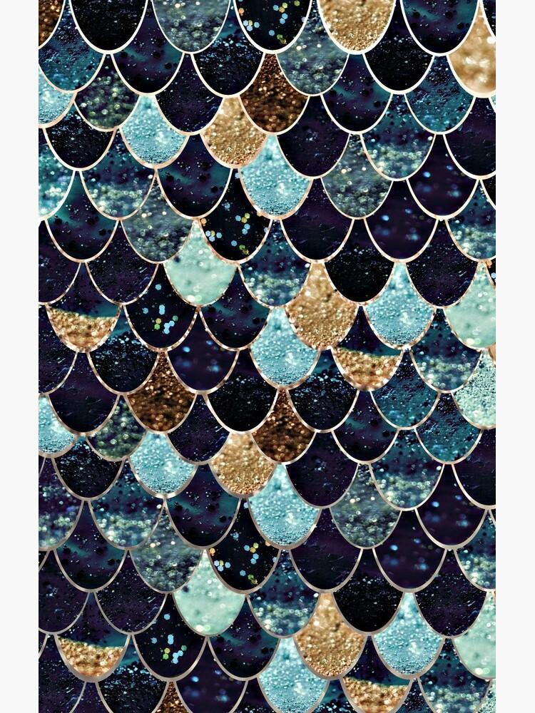 MYSTIC MERMAID BLUE by SunlightStudios