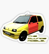 The Clungemobile - The Inbetweeners [Single Print With Text] Sticker