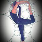 Yoga Art 13 by John Dalton