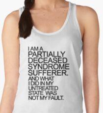 PDS sufferer black T-Shirt