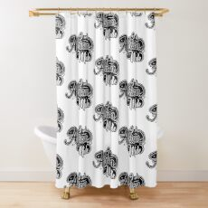 I AM African Made Shower Curtain