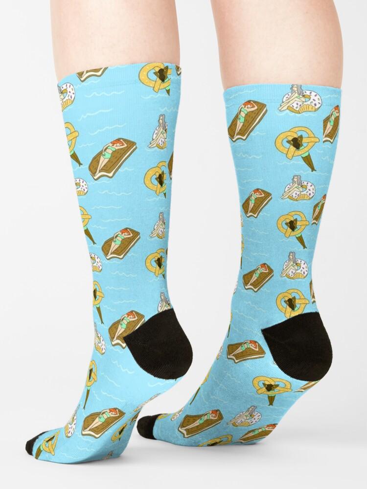 Alternate view of Foodie Pool Party Socks
