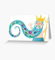 Neptune Greeting Card
