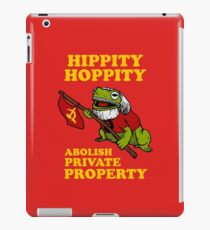 Hippity Hoppity Abolish Private Property iPad Case/Skin