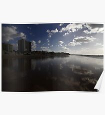Wet Rota Clouds Poster