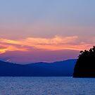 Sunset at the Lake by Esherpah