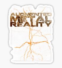 Augmented Metal Reality Sticker