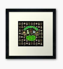 Monster Mash Framed Print