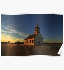 St. Olaf's - The Old Rock Church Poster