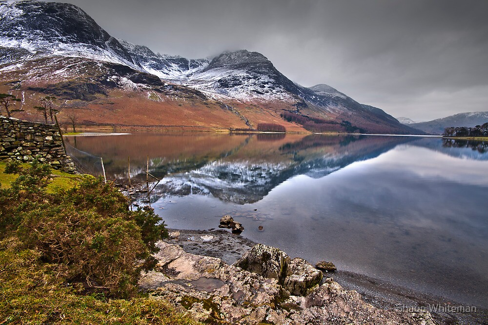 Buttermere on a frosty winters day by Shaun Whiteman