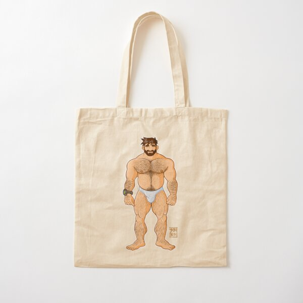 ADAM LIKES UNDERWEAR - CHARACTER ONLY Cotton Tote Bag