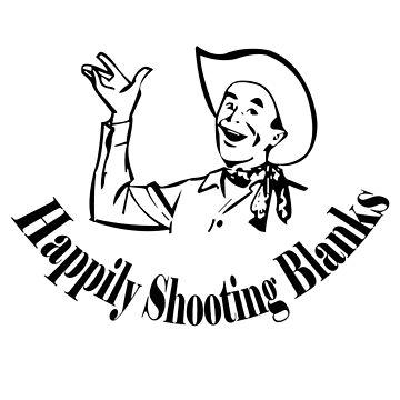Happily shooting blanks geek funny nerd by jekonu