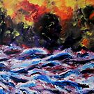 Red Sea Oil Fires by George Hunter