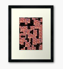 Rusted Wire Framed Print