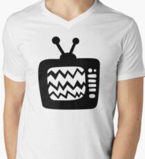 Vintage Cartoon TV Men's V-Neck T-Shirt