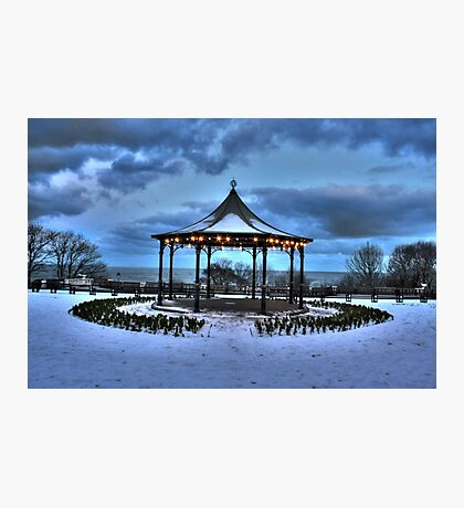 Filey Band Stand. Photographic Print