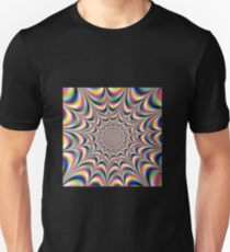 Optical illusion print Slim Fit T-Shirt