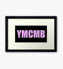 YMCMB print tumblr inspired Framed Print