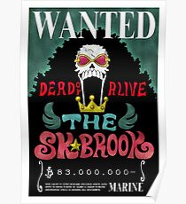 One Piece Wanted Posters Redbubble