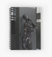 Love Is Artificial Spiral Notebook