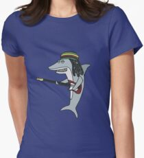 Reggae shark Women's Fitted T-Shirt
