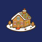 Gingerbread House Pattern - Christmas Eve by evannave