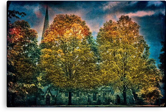 The Episcopal Church of St Mary-in-the-Highlands, Cold Spring, NY by Chris Lord