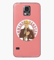 Funda/vinilo para Samsung Galaxy Botón Erwin - Comandante guapo